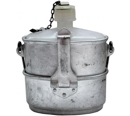 Pot + flask VDV aluminum (1976)