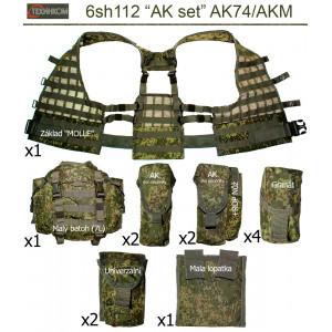 """Tactical vest """"6sh112"""" AK set (AK74/AKM)"""