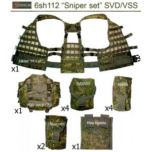 """Tactical vest """"6sh112"""" Sniper set (SVD/VSS)"""