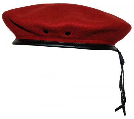 Seamless beret (Maroon)