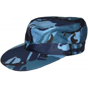 "Police cap ""Blue Flora"""