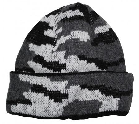 "Winter hat ""Grey Flora"""