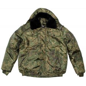 "Winter jacket ""Operativnik"" (Digital Flora)"