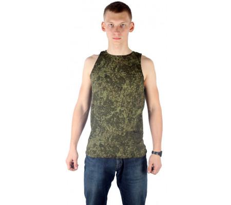 """Sleeveless t-shirt """"Digital Flora"""""""
