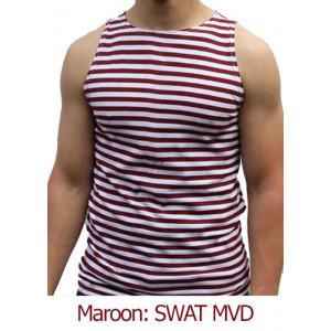 Sleeveless telniashka (Maroon)